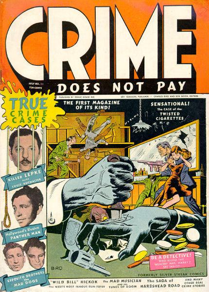 Sex crazy convicts comic book